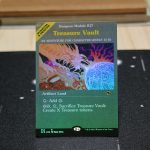 Treasure Vault Adventures in the Forgotten Realms (AFR) foil German black core mtg magic the gathering proxy for FNM GP tournament