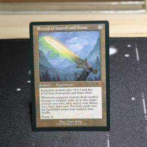 Sword of Hearth and Home old art Modern Horizon 2 MH2 mtg proxy for GP FNM magic the gathering tournament proxies