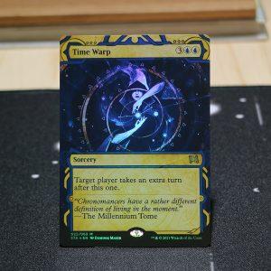 Time Warp Strixhaven Mystical Archive (STA) English foil German black core mtg magic the gathering proxy for FNM GP tournament