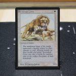 Savannah Lions B Limited Edition Beta (LEB) mtg proxy for GP FNM magic the gathering tournament proxies