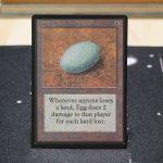 Dingus Egg B Limited Edition Beta (LEB) mtg proxy for GP FNM magic the gathering tournament proxies