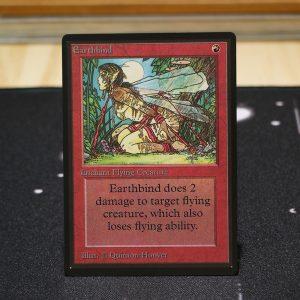 Earthbind B Limited Edition Beta (LEB) mtg proxy for GP FNM magic the gathering tournament proxies