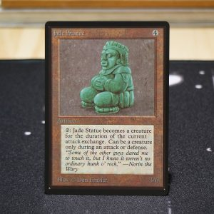 Jade Statue B Limited Edition Beta (LEB) mtg proxy for GP FNM magic the gathering tournament proxies