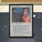 Veteran Bodyguard B Limited Edition Beta (LEB) mtg proxy for GP FNM magic the gathering tournament proxies