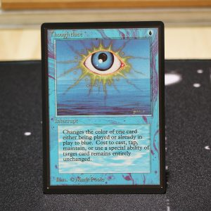Thoughtlace B Limited Edition Beta (LEB) mtg proxy for GP FNM magic the gathering tournament proxies