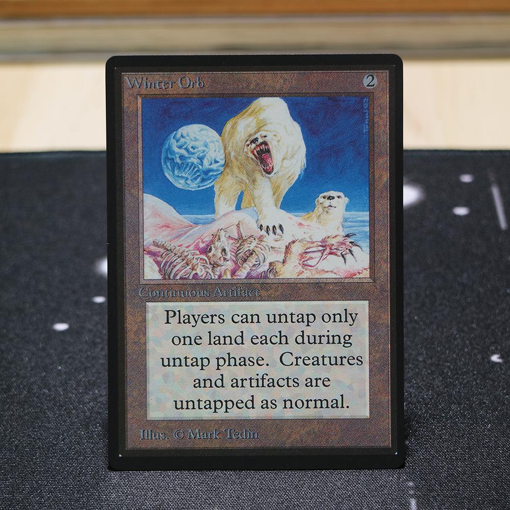 Winter Orb B Limited Edition Beta (LEB) mtg proxy for GP FNM magic the gathering tournament proxies