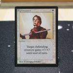 Righteousness B Limited Edition Beta (LEB) mtg proxy for GP FNM magic the gathering tournament proxies