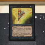 Nightmare B Limited Edition Beta (LEB) mtg proxy for GP FNM magic the gathering tournament proxies