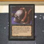 Deathlace B Limited Edition Beta (LEB) mtg proxy for GP FNM magic the gathering tournament proxies