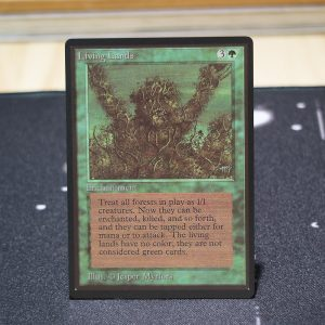 Living Lands B Limited Edition Beta (LEB) mtg proxy for GP FNM magic the gathering tournament proxies