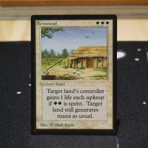 Farmstead B Limited Edition Beta (LEB) mtg proxy for GP FNM magic the gathering tournament proxies